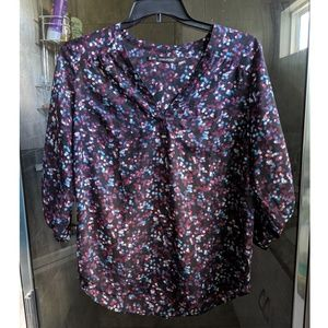 Maurice's Sheer Popover Top